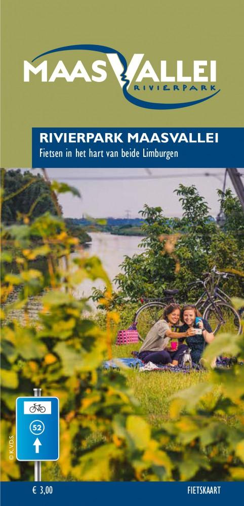 Detailfoto van Fietskaart RivierPark Maasvallei