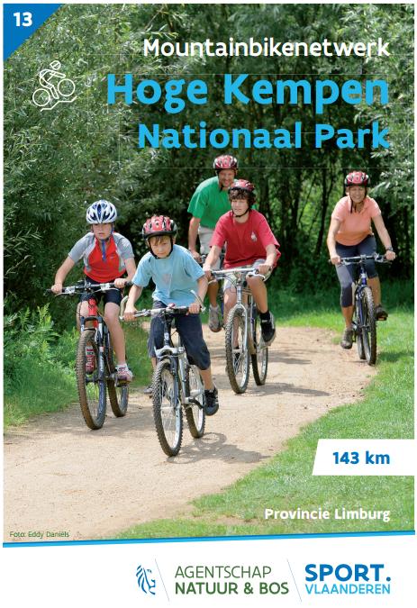 Detailfoto van Mountainbikenetwerk Nationaal Park Hoge Kempen