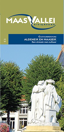 Detailfoto van Cultuurbrochure Aldeneik en Maaseik