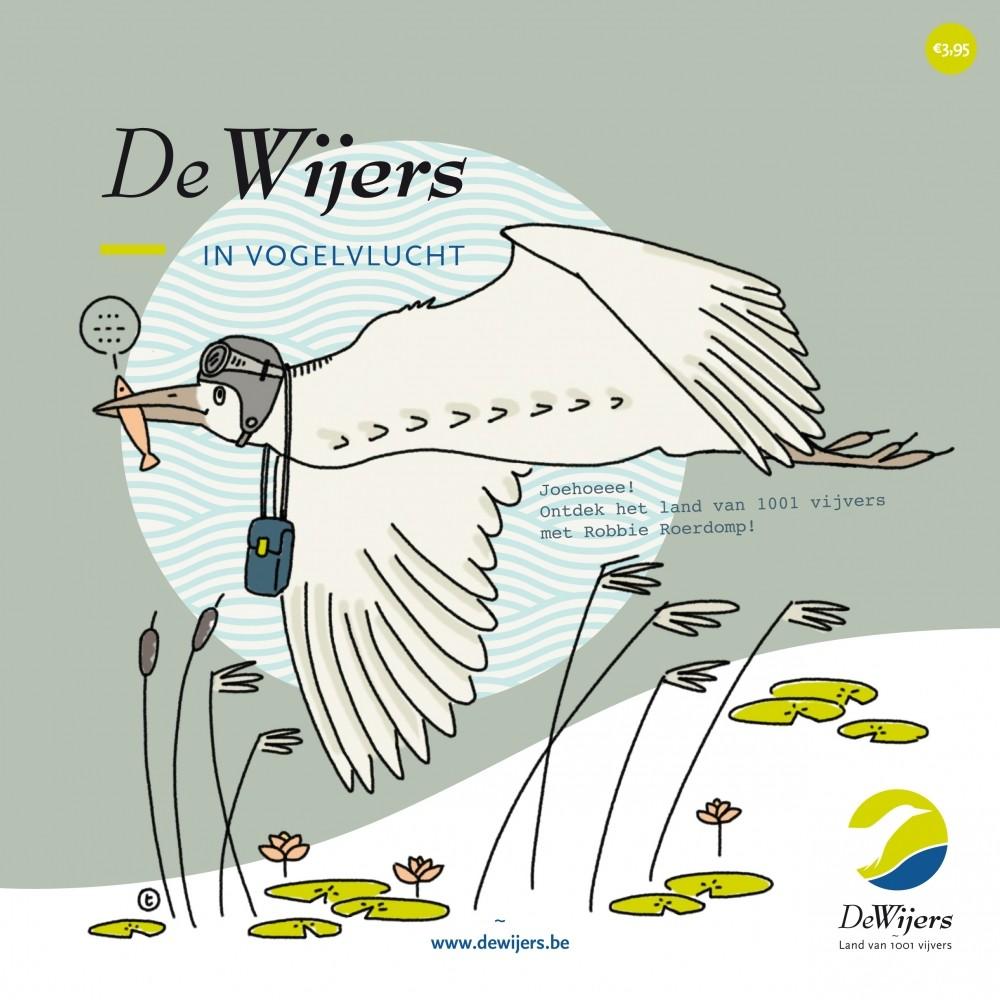 Detailfoto van Doeboek 'De Wijers in vogelvlucht'