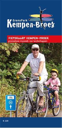 Detailfoto van Fietskaart Kempen~Broek