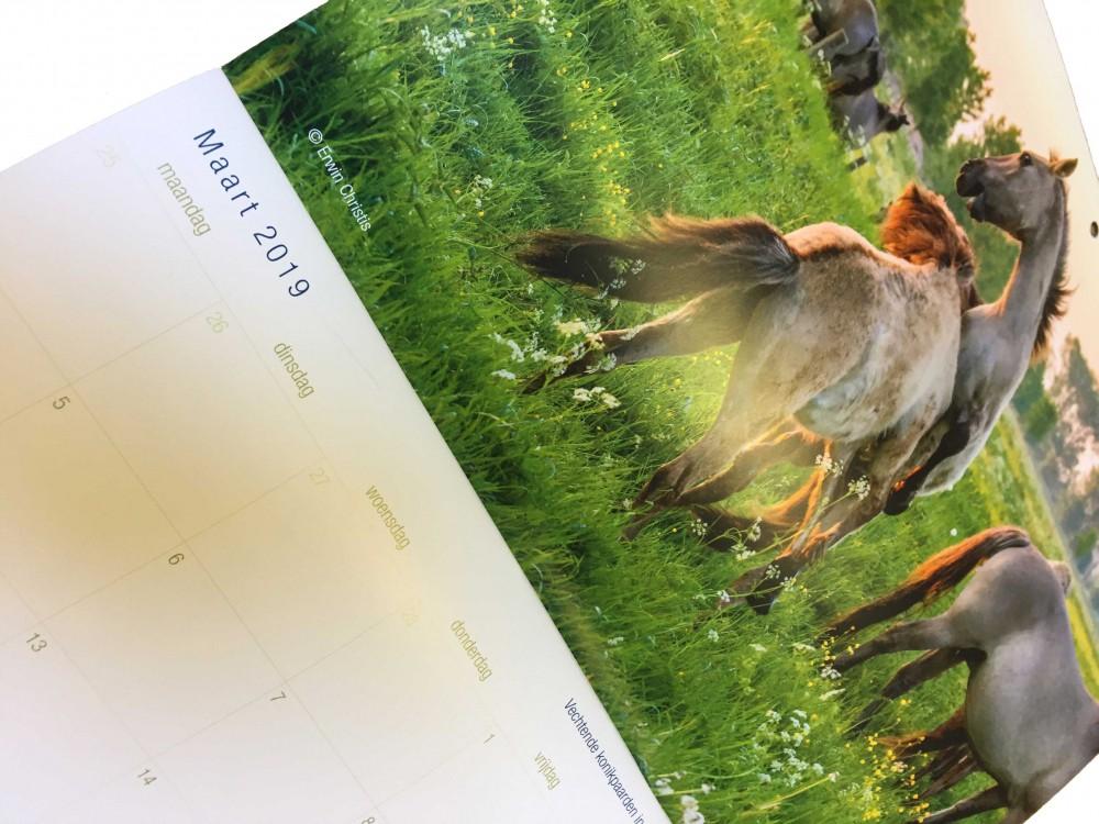 Detailfoto van RivierPark Maasvallei Kalender 2019