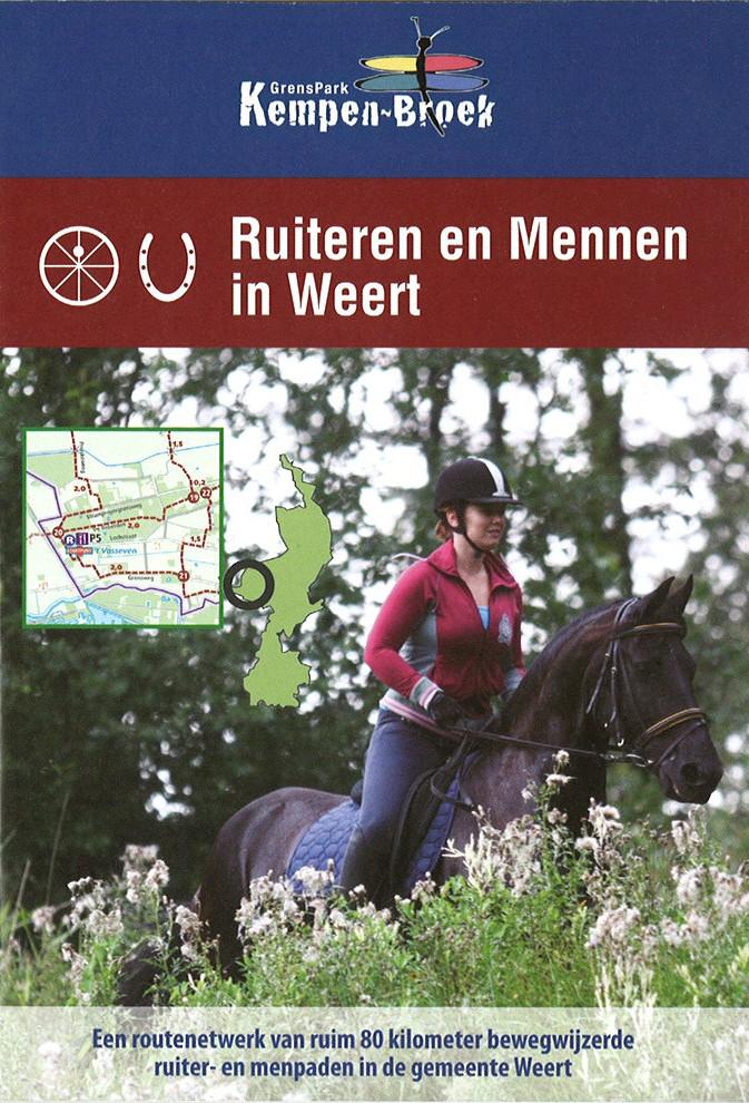 Detailfoto van Ruiteren en mennen in Weert