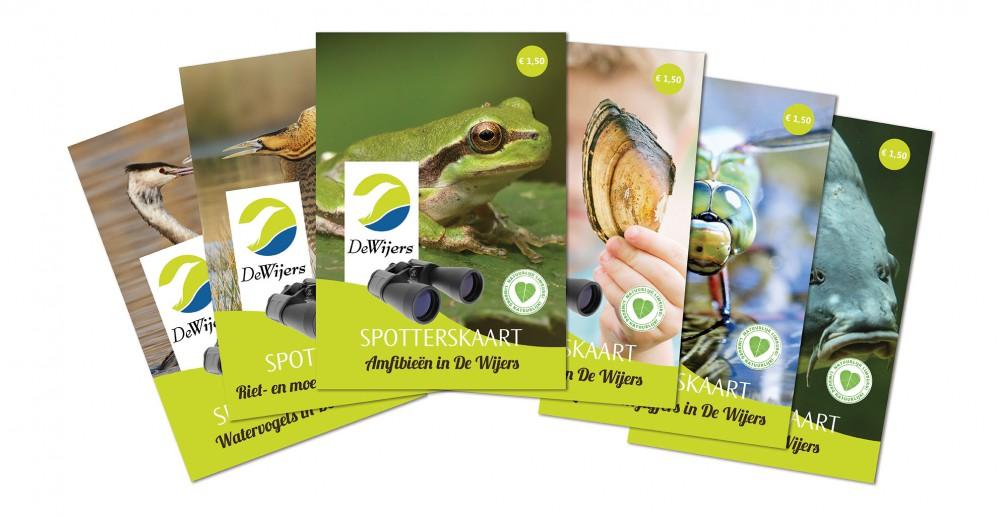Detailfoto van Promotiepakket Spotterskaarten