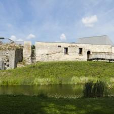 Toegangspoort Pietersheim - Waterburcht (groen)