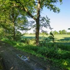 Kempen~Broek: de Kempen - instapplaats einde Kempenweg, Bocholt (rood)