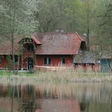 Greenspot Nieuwenhoven, startplaats provinciaal domein Nieuwenhoven (rood)