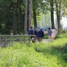 Verborgen Moois Bellevuebos - startplaats Hemelspark (geel)