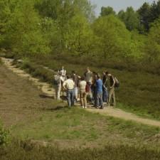 Toegangspoort Mechelse Heide (blauw)