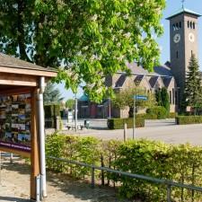 Kempen~Broek: Altweerterheide - Startplaats Kerk Altweerterheide Bocholt (blauw)