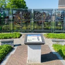 Kempen ~Broek: Ommetje Romeinse Brug Instapplaats St - Barbaraplein Tungelroy (blauw)