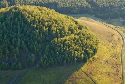 Toegangspoort Thorpark (groen)