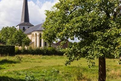 Maasvallei: Aldeneik - instapplaats 'Kerk Aldeneik' (P6) (rood)