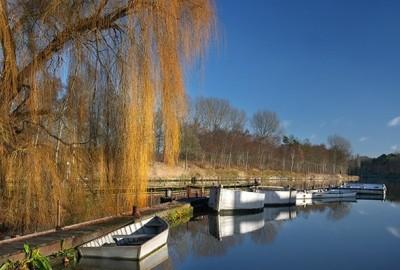 Bosland: Blauwe Kei - De Maat - instapplaats Blauwe Kei (groen)