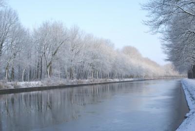 De Groote Heide: Sint-Huibrechts-Lille - startplaats De Bosuil (rood)
