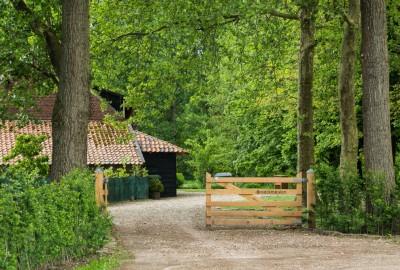 Kempen~Broek: Stramproy - instapplaats Kerkplein Stramproy (geel)