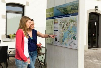 Maasvallei: Drie Eigen - instapplaats Douanekantoor Kessenich (P3) (blauw)