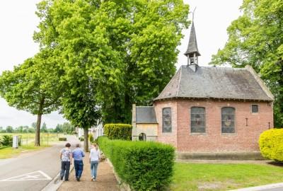 Maasvallei: Aldeneik - instapplaats 'Kerk Aldeneik' (P6) (groen)