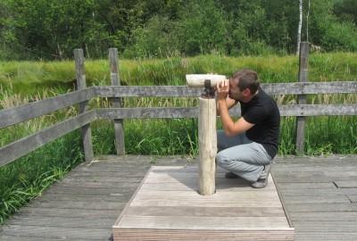 Bolderberg-Viversel: touristisch onthaal (groen)
