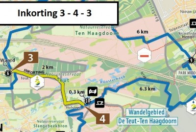 De Wijers: Kelchterhoef - Ten Haagdoorn - startplaats domein Kelchterhoef (lange afstandswandeling)