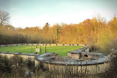Verborgen Moois Jonckholt, startplaats Hoelbeek kerk (groen)