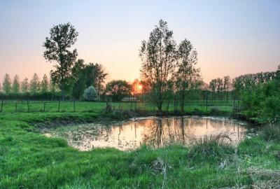 Verborgen Moois Nietelbroeken, startplaats Diepenbeek (blauw)