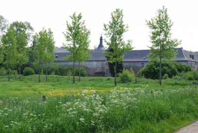 Verborgen Moois Beukenberg, startplaats kasteel Betho Mulken (rood)