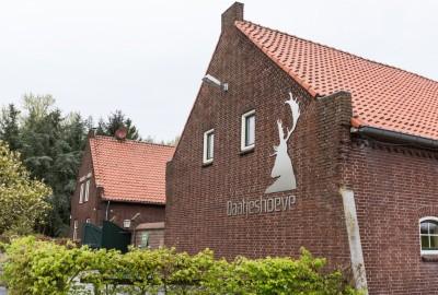 Kempen~Broek: Weerterbos en Hugterheide - Instapplaats Fazantlaan (geel)