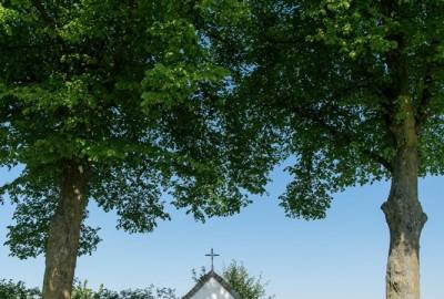 Kempen~Broek: Stramproy - instapplaats Kerkplein Stramproy (blauw)